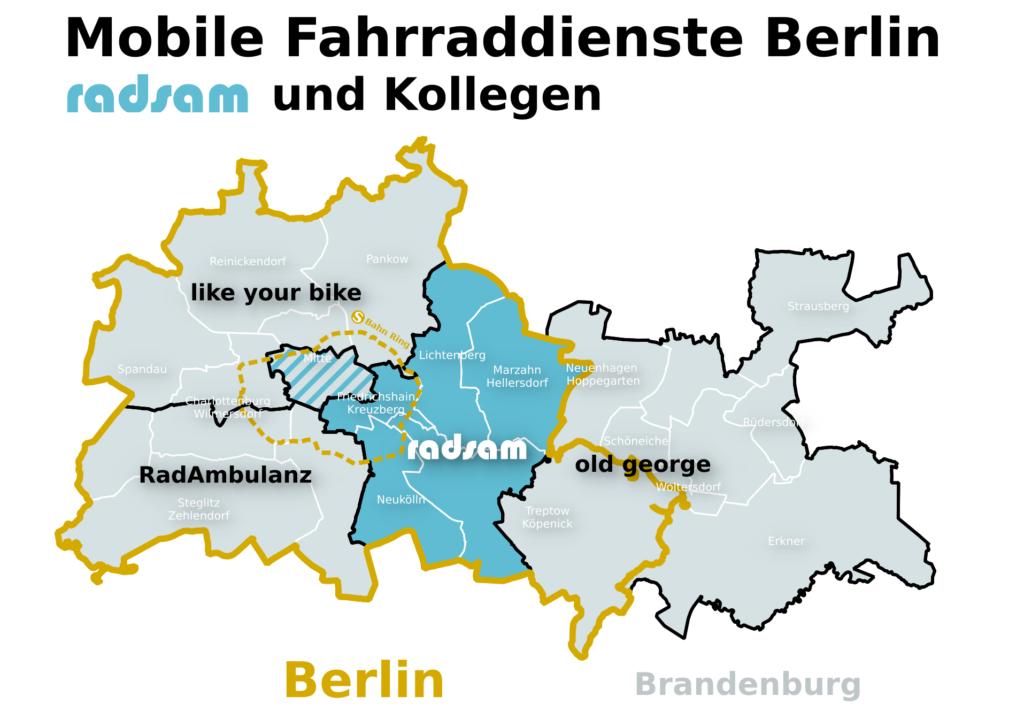 Radsam Mobile Fahrradwerkstatt In Berlin