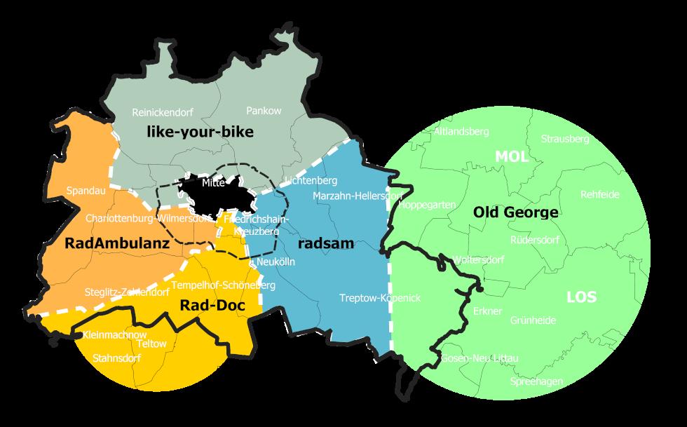 Mobiler Fahrradservice, Mobile Fahrradreparatur